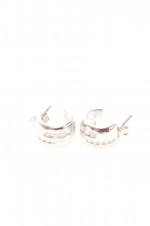 Fossil Silver Earrings silver-colored business style