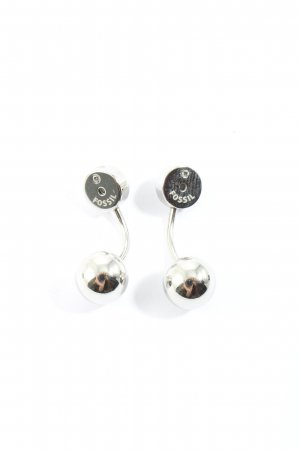 Fossil Silver Earrings silver-colored casual look