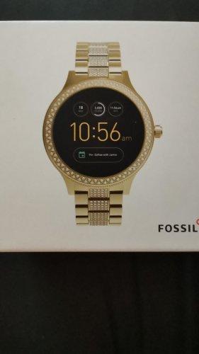 Fossil Montre numérique doré