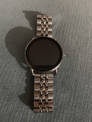 Fossil Digital Watch silver-colored-black