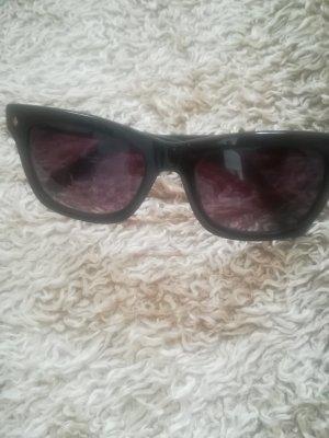 Fossil Occhiale da sole spigoloso nero