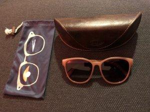 Fossil Gafas Retro color oro-rosa Material sintético