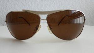 Fossil Sonnenbrille Aviator GOLD/BRAUN