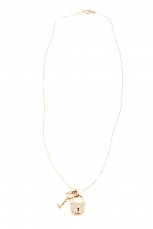 Fossil Statement ketting goud casual uitstraling