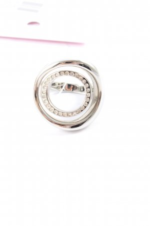 Fossil Statement ring zilver casual uitstraling