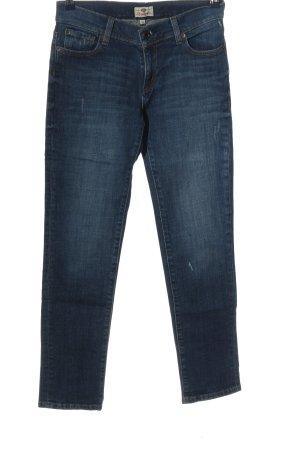 Fossil Jeans coupe-droite bleu style décontracté