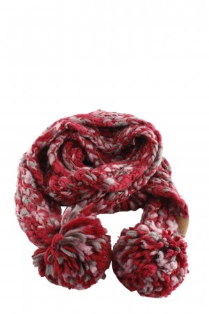 Fossil Knitted Scarf red-natural white flecked casual look