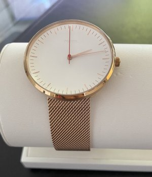 Fossil  The Essentialist - Leder - Rosa mit Wechselband