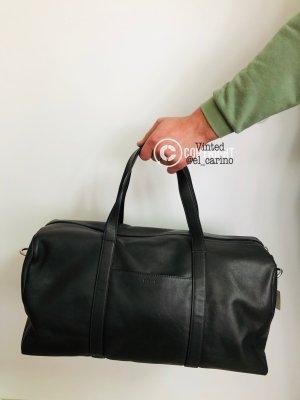 Fossil *Trey Duffle Grey* große Tasche Herren Handtasche Tragetasche Reisetasche Leder Grau