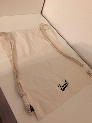 Fossil Sac de sport blanc cassé-noir