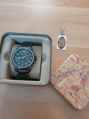 Fossil Analog Watch white-black