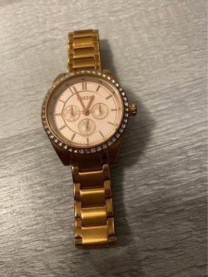 Fossil Reloj digital rosa