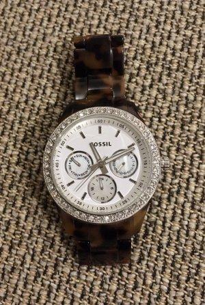 Fossil Analoog horloge veelkleurig