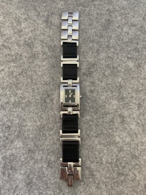 Esprit Self-Winding Watch silver-colored-black