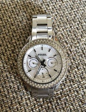 Fossil Analoog horloge zilver-wit