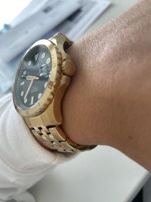 Fossil Zegarek automatyczny złotopomarańczowy
