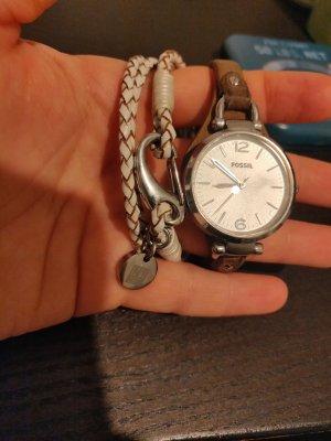 Fossil Uhr mit OVP & NewOne Armband