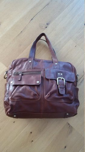 Fossil Borsa da weekend marrone Pelle