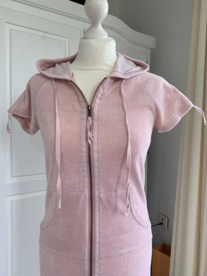 Crew United Hooded Dress rose-gold-coloured
