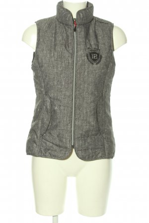 Fouganza Sports Vests light grey-black printed lettering casual look
