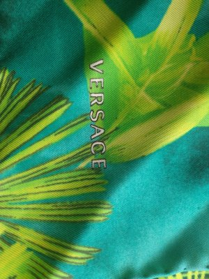 Versace Neckerchief multicolored silk