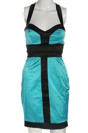 Four flavor Minikleid blau-schwarz Elegant