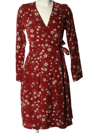 Four flavor Kopertowa sukienka Wzór w kwiaty W stylu casual