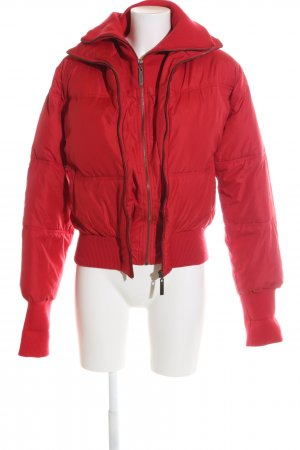 Fox Daunenjacke rot Steppmuster Casual-Look
