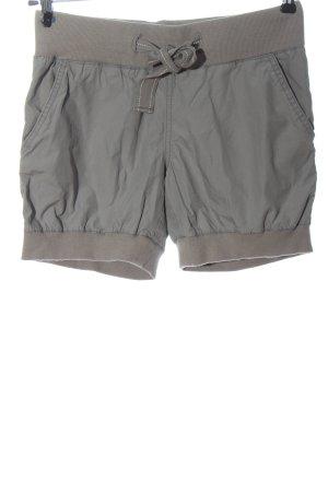 Fox Pantaloncino a vita alta grigio chiaro stile casual