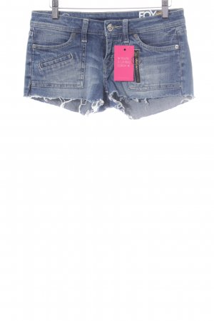 Fox Hot Pants stahlblau Casual-Look