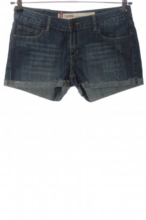 Fox Pantaloncino di jeans blu stile casual
