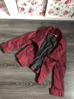 Fox's Blazer Jacke rot Bordeauxrot Stehkragen neu