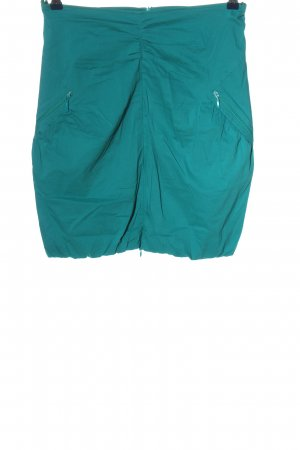 FOX'S Pencil Skirt turquoise casual look