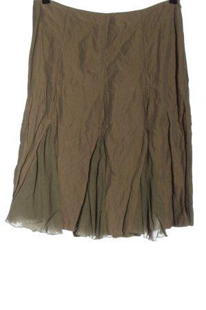 FOX'S Flared Skirt brown-khaki casual look
