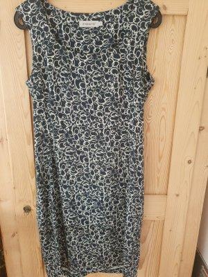 FOX'S Jersey Dress white-dark blue
