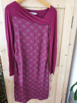 FOX'S Vestido de tela de jersey gris-violeta