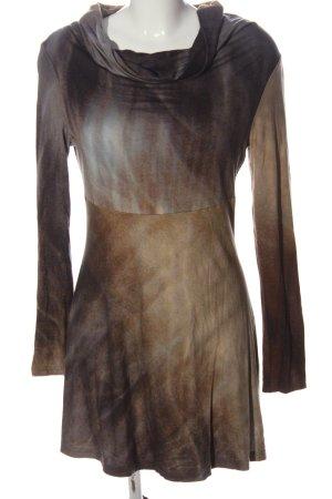 FOX'S Longsleeve Dress abstract pattern casual look