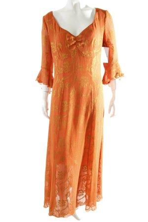 FOX'S Maxi Dress orange-dark yellow