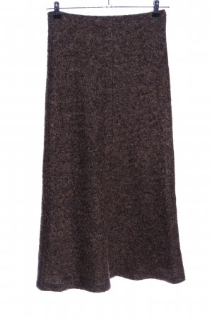 FOX'S Maxi Skirt bronze-colored flecked casual look