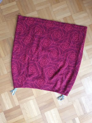 FOX'S Miniskirt dark red-bordeaux