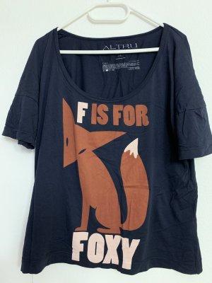 Foxy Shirt, Motto Shirt, Longsleeve, Fuchs, Urban Outfitters