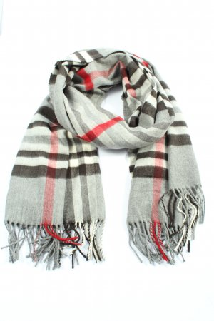 Fraas Fringed Scarf allover print casual look