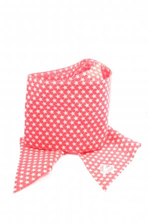 Fraas Casual Cravat red-white abstract pattern casual look