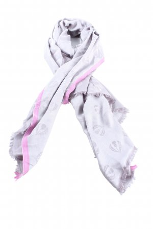 Fraas Shoulder Scarf light grey-pink allover print casual look