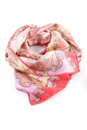 Fraas Silk Scarf flower pattern business style