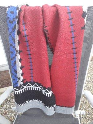 Fraas Bufanda de lana multicolor
