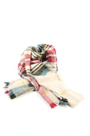Fraas Bufanda de lana estampado a cuadros look casual