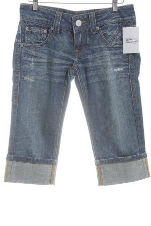 Fracomina 3/4 Jeans dunkelblau Jeans-Optik