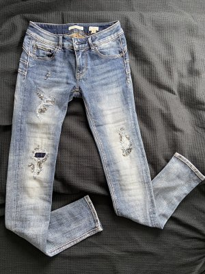 Fracomina Jeans mit glitter Applikationen Size 25