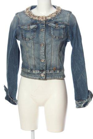 Fracomina Denim Jacket blue casual look